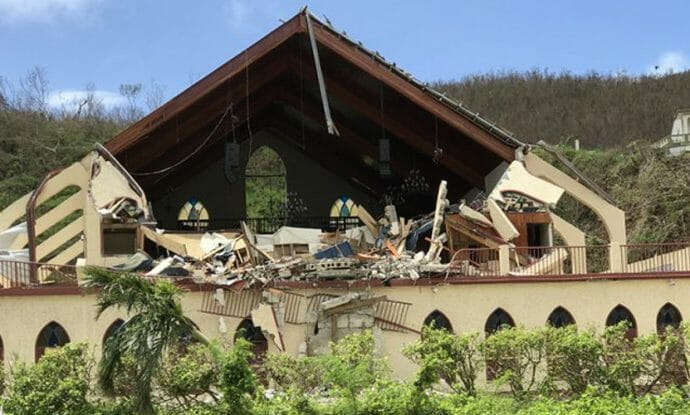 in-st-thomas-services-resume-in-damaged-church-building