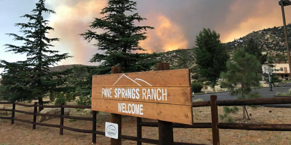 Two Adventist Camps Evacuated Due to California Wildfires