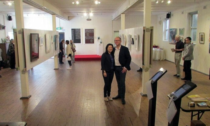 local-church-engages-the-community-through-painting-class-exhibition