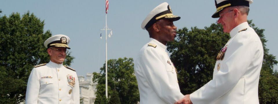 22ND CHIEF OF NAVY CHAPLAINS, REAR ADMIRAL BARRY C. BLACK RETIRES
