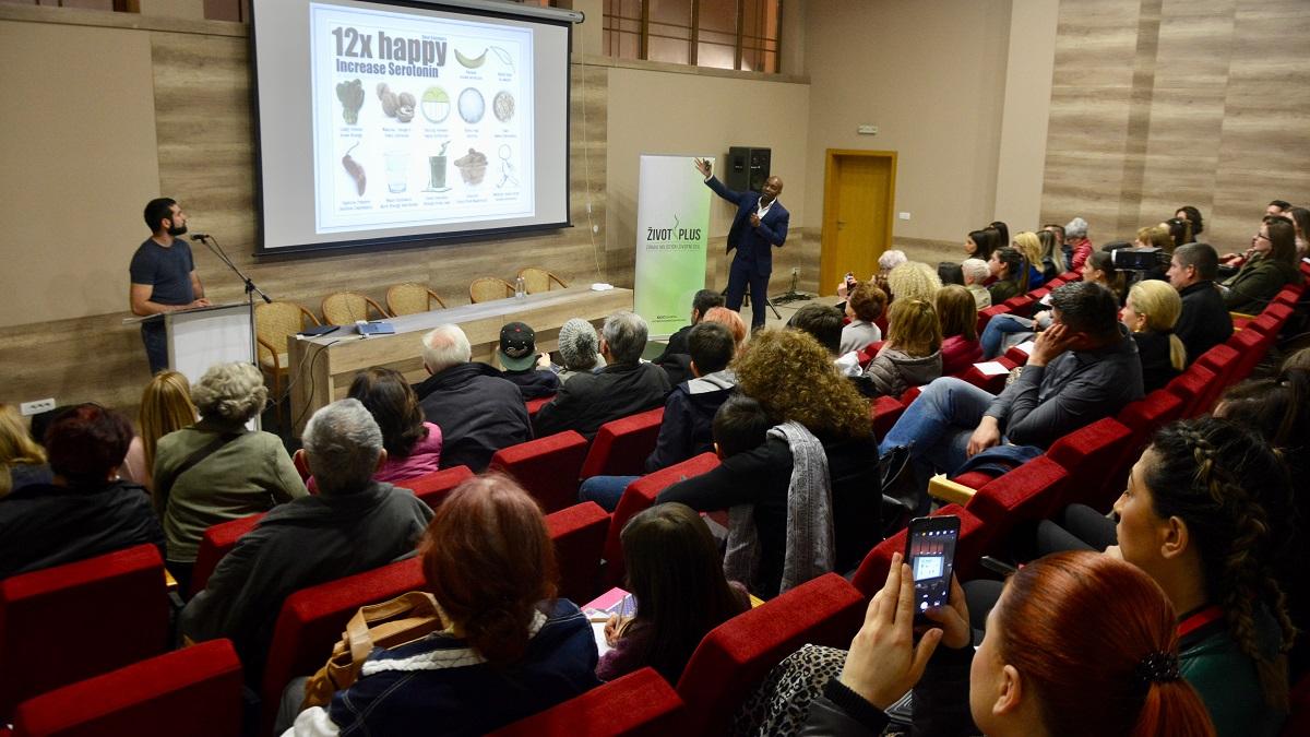 dr chidi presenting in mostar