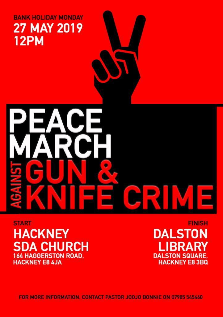 peace march poster